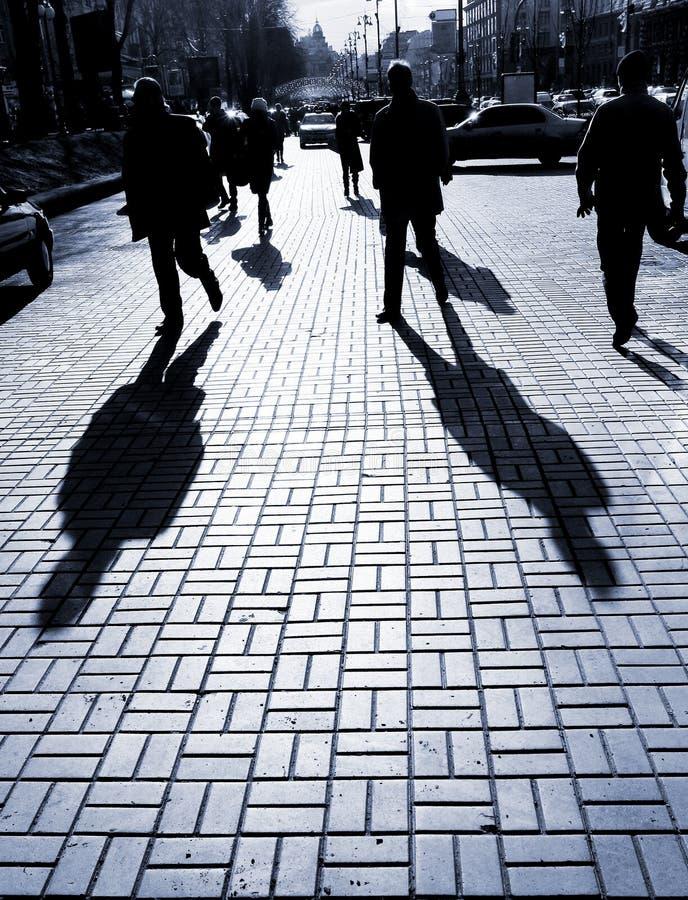 Download Street life stock image. Image of crowd, women, forward - 8275313