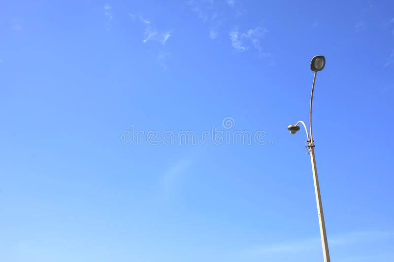 Download Street light stock image. Image of space, lamp, background - 14857877