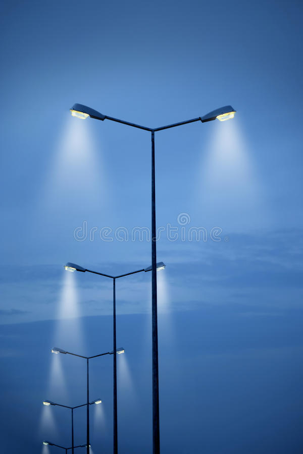 Download Street light stock image. Image of metal, electricity - 16682465
