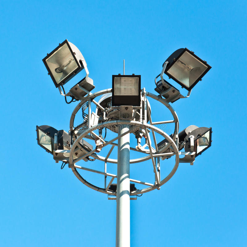 Download Street light stock image. Image of electric, lamppost - 25256825