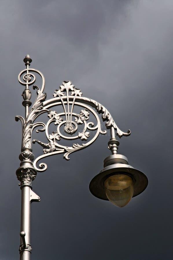 Download Street light stock image. Image of irish, lantern, clouds - 26530381