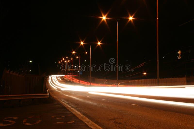 Street Of Light Royalty Free Stock Image