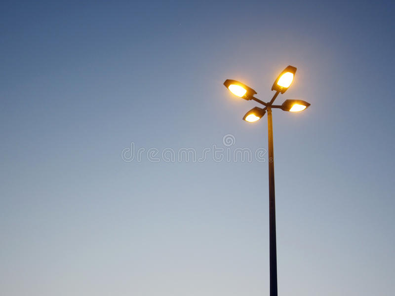 Download Street Light Against A Blue Sky Stock Photo - Image: 24041640