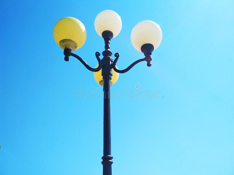 Street light, architectural decision stock images