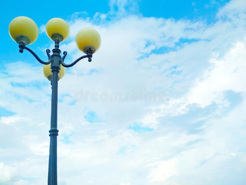 Street light, architectural decision stock photos
