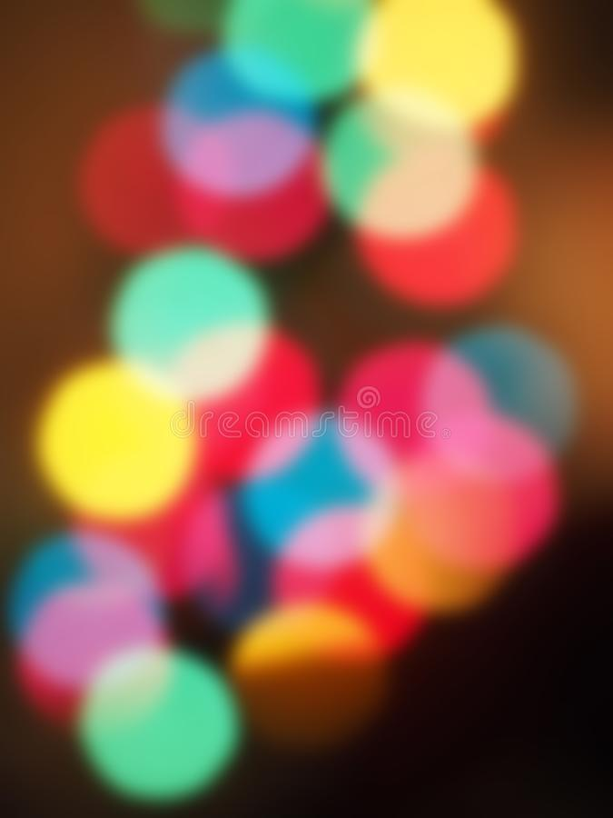 Street light into shining dream. Abstract, wallpaper royalty free stock photography