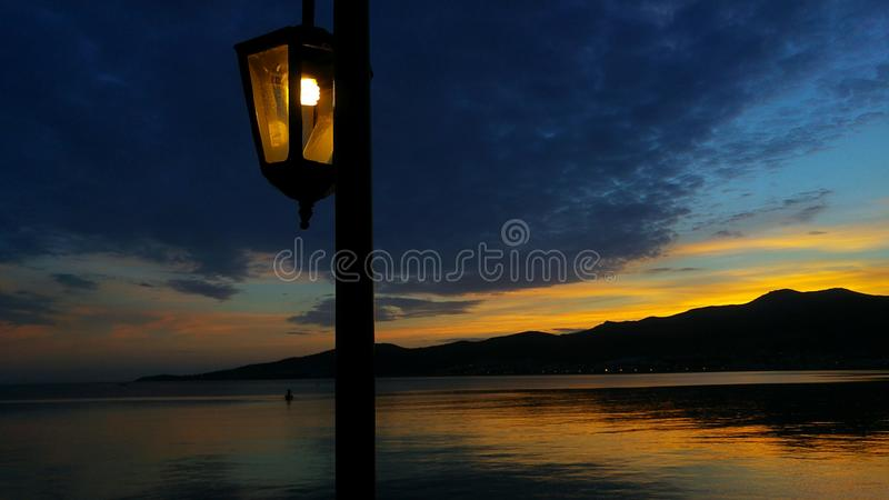 The street light stock images