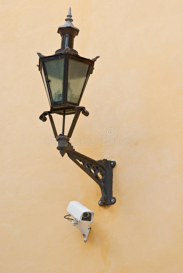 Download Street Lighting And Camera Stock Photography - Image: 17907322