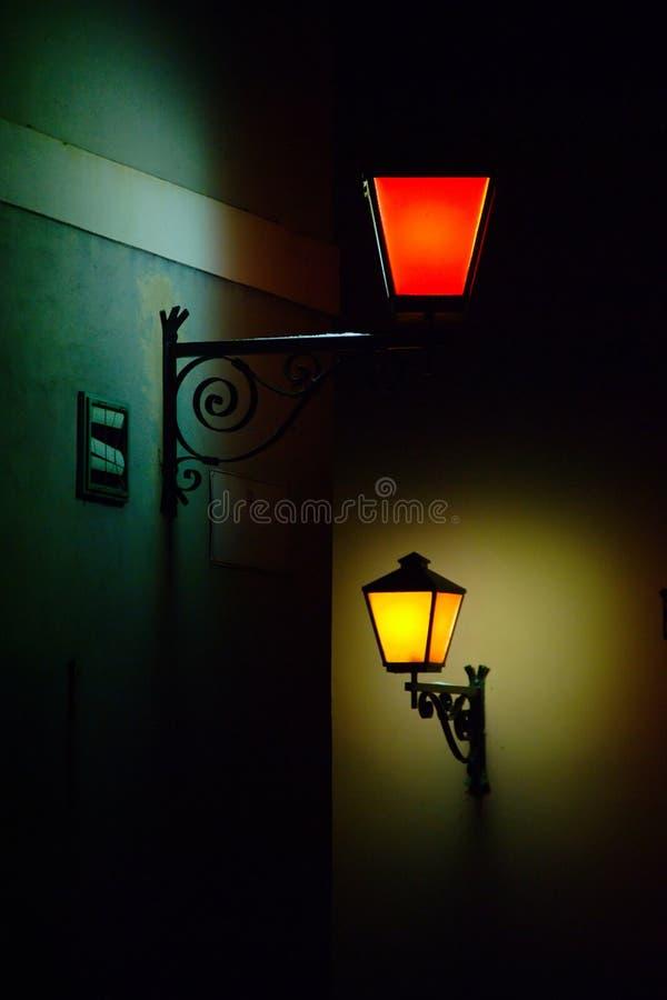 Download Street Lights stock image. Image of dark, street, urban - 35707287
