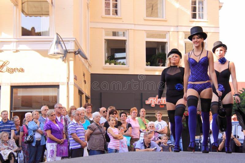 Download Street Lingerie Fashion Show Deventer Editorial Photo - Image: 21434821