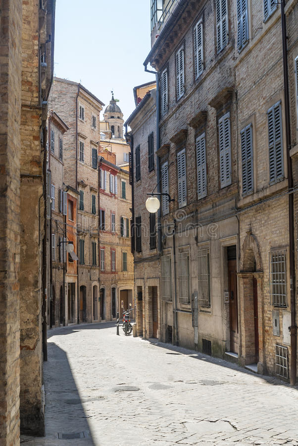 Download Street of Macerata stock image. Image of city, italy - 29032879