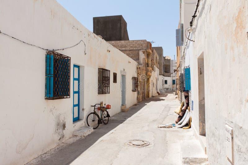 Download Street in Mahdia stock photo. Image of door, white, mahdia - 23883596