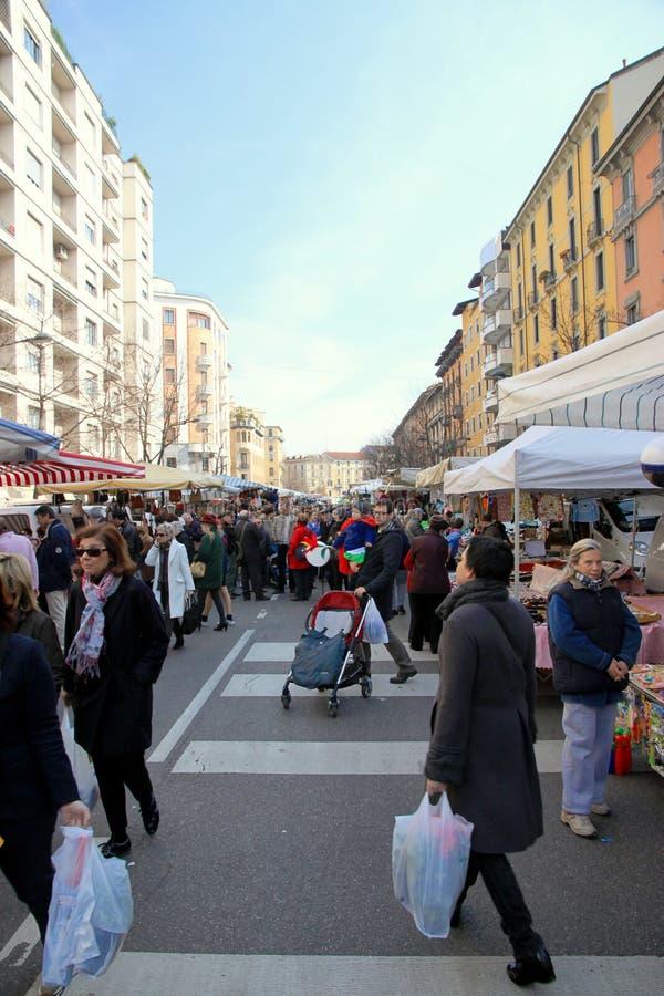 Street Market Editorial Stock Image