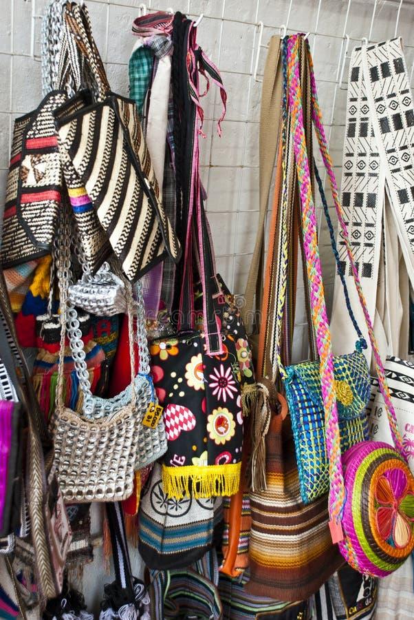 Download Street market - Bags stock photo. Image of crochet, cross - 39082216