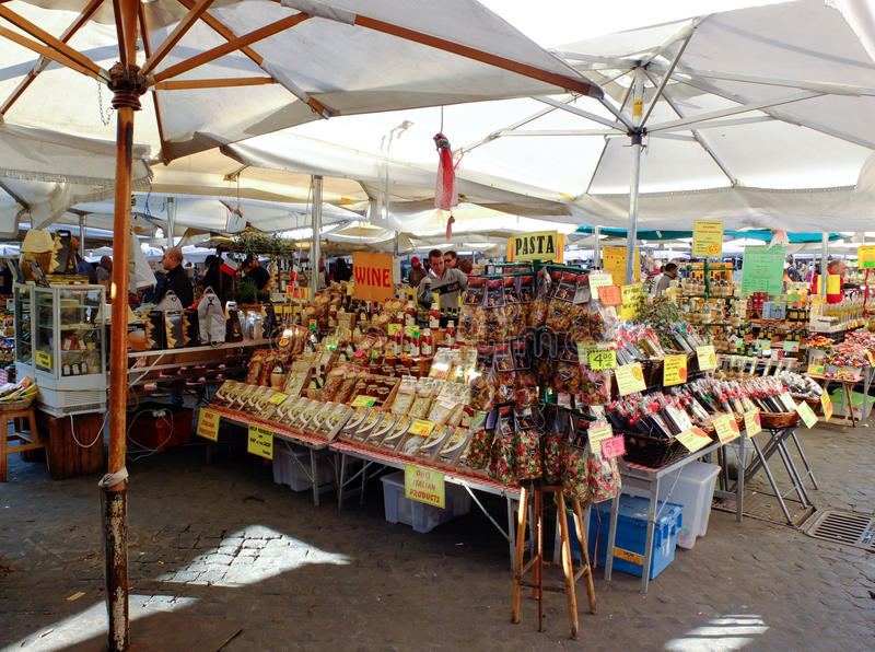 Download Street Market In Rome, Italy Editorial Stock Image - Image: 27711304