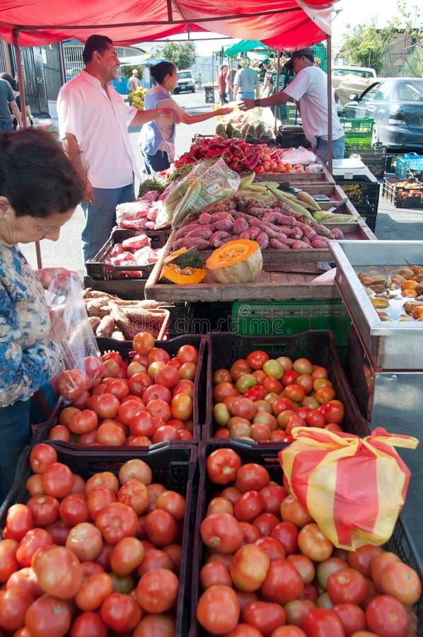 Street Market In Tres Rios, Costa Rica Editorial Photography