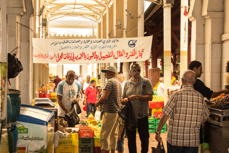 Download Street market in Tunis editorial photo. Image of shopping - 27926501