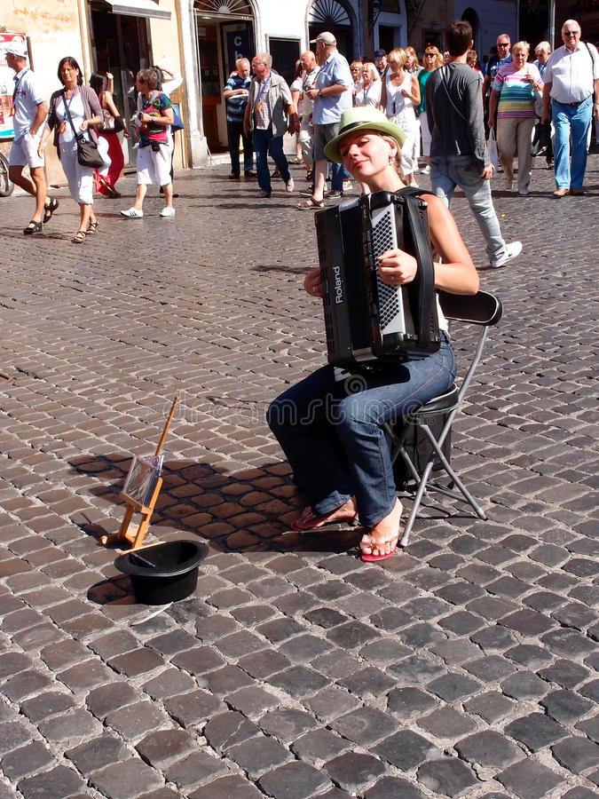Download Street musician editorial photo. Image of tourism, music - 33814076