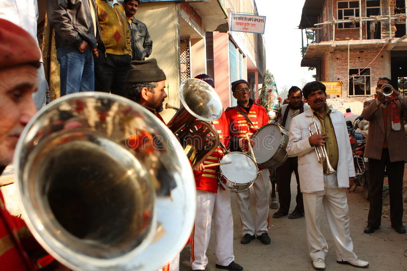 Download Street musicians editorial image. Image of indians, holy - 12325975