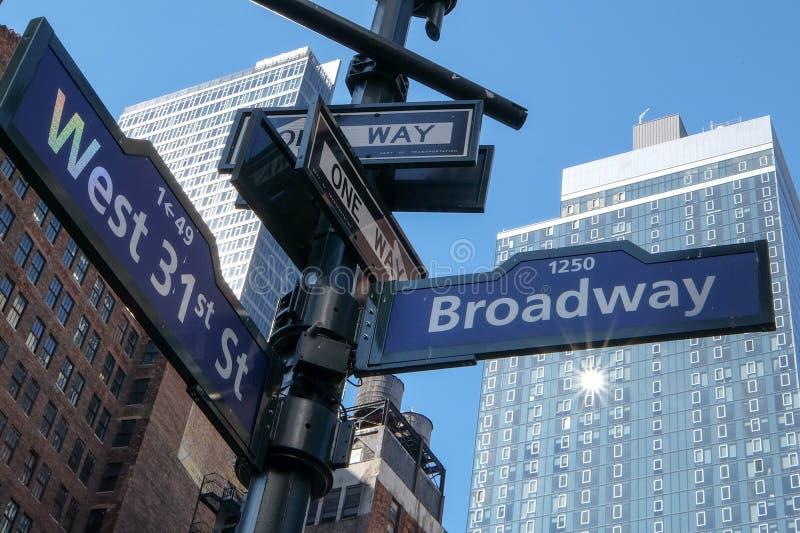 Street name stock image