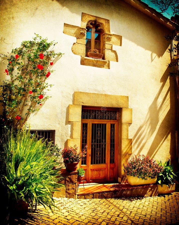 Free Street Of Old Mediterranean Town Stock Photos - 35326093