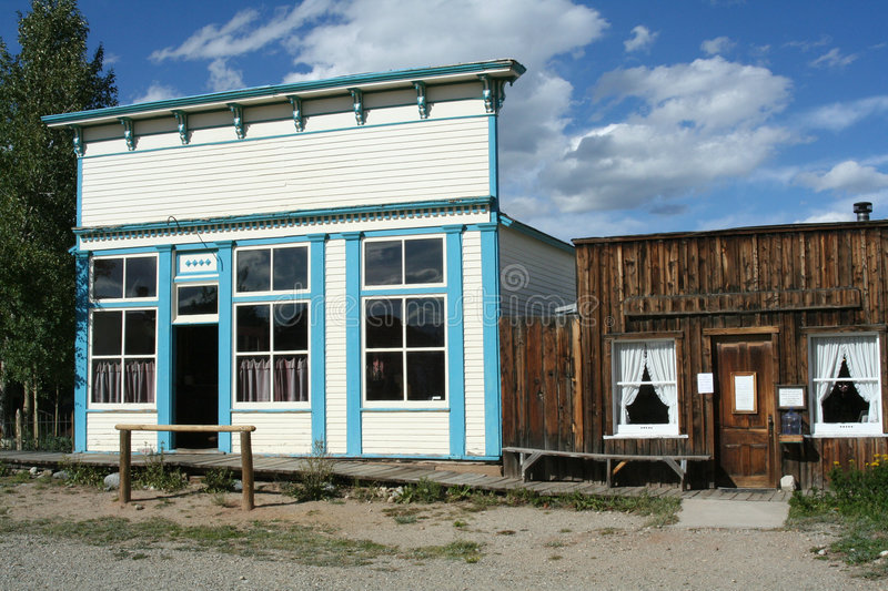 Download Street Of Old Frontier Town Stock Image - Image: 6604041