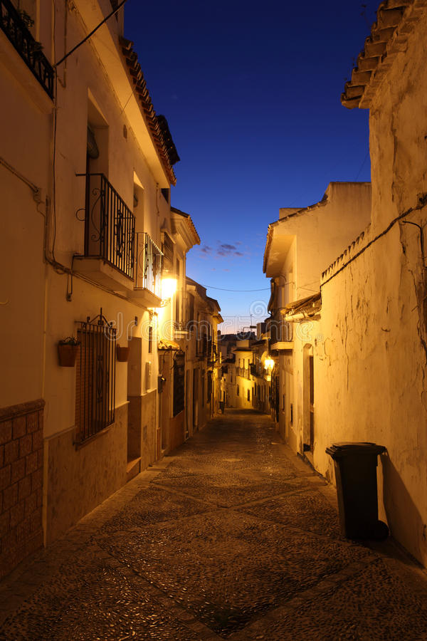 Download Street In The Old Town Of Estepona Stock Photo - Image: 28801022