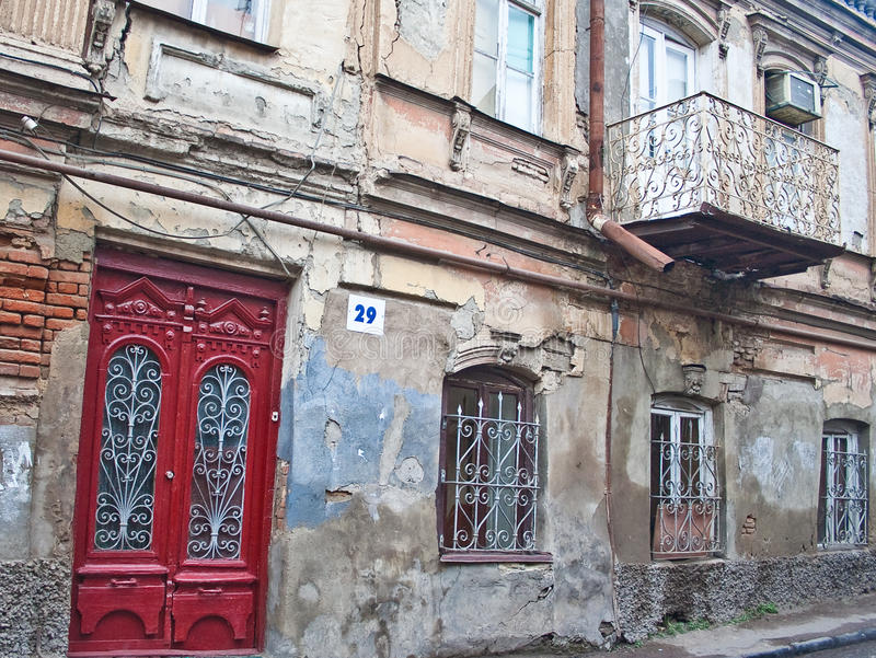 Download Street In The Old Town. Tbilisi Stock Image - Image: 25262959