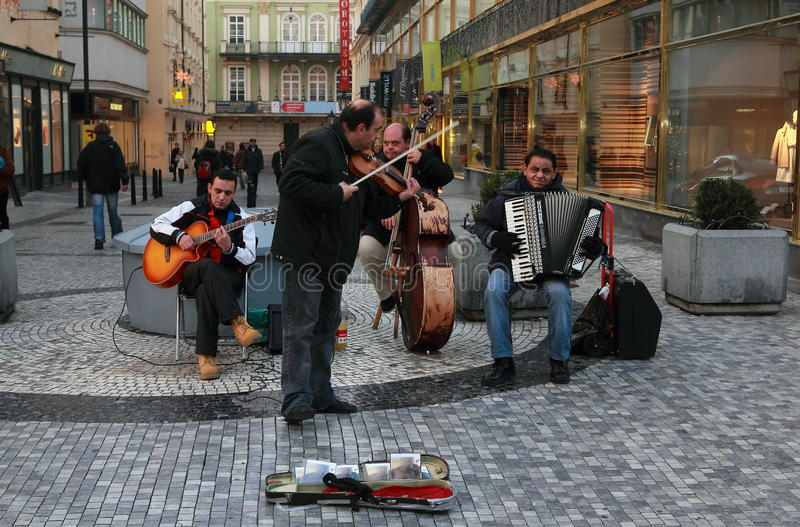 Download Street Orchestra Playing Music Editorial Photo - Image: 27889391