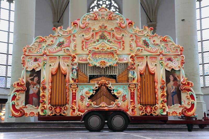 Street organ stock images