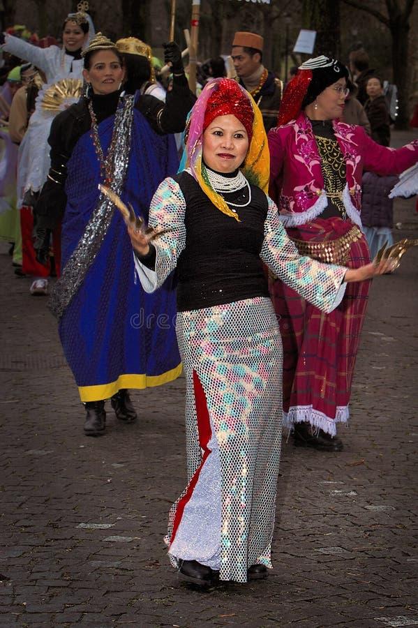 Free Street Parade Participant Royalty Free Stock Photo - 199754105