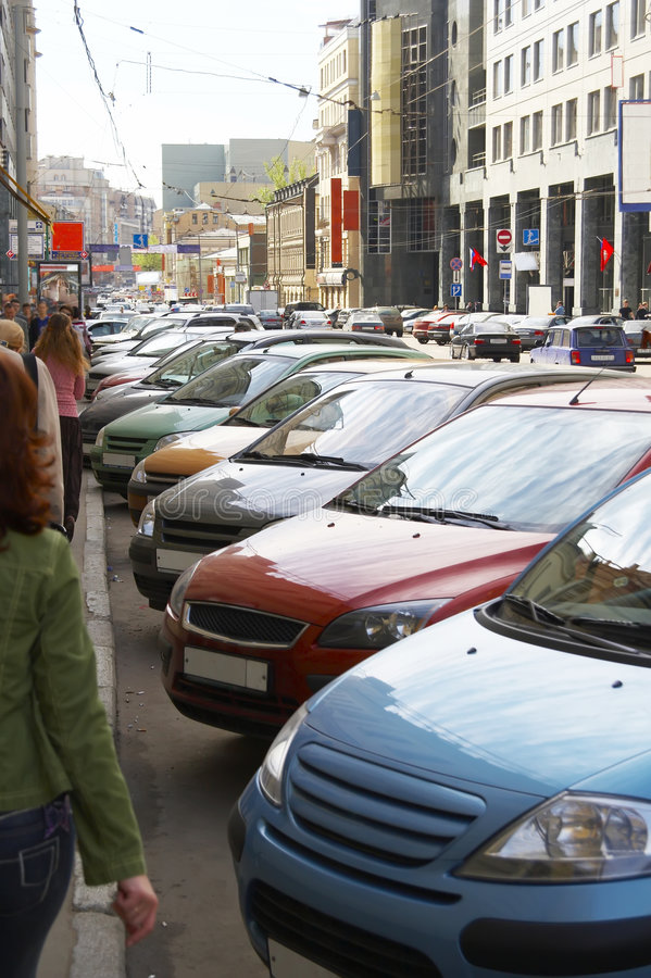 Download Street parking stock image. Image of comfortable, cars - 2463569