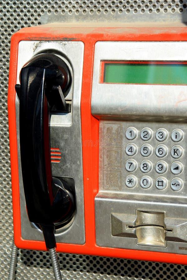 Street phone 02 royalty free stock photos