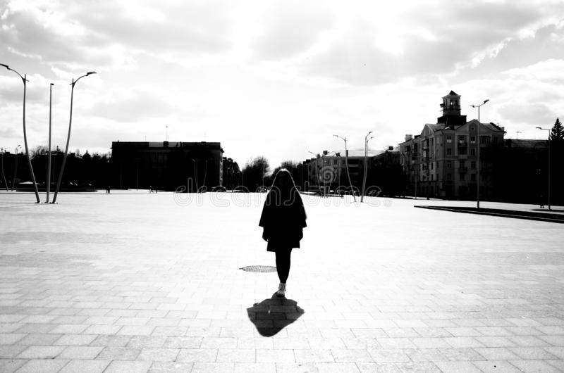 Street photography stock photo