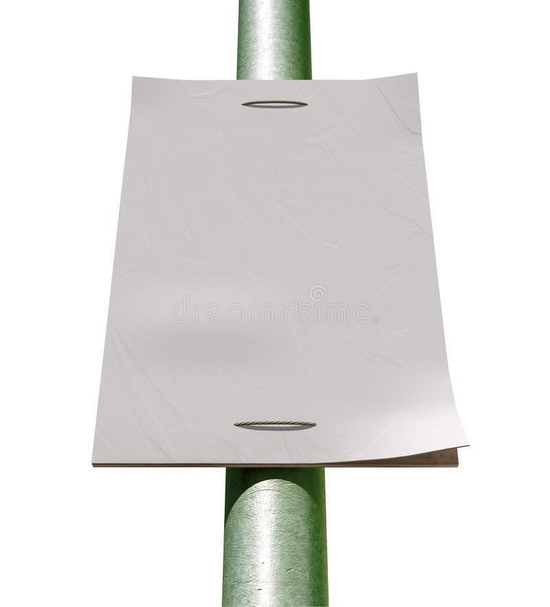Download Street Pole Blank Newspaper Headline Page Stock Photo - Image: 26586872