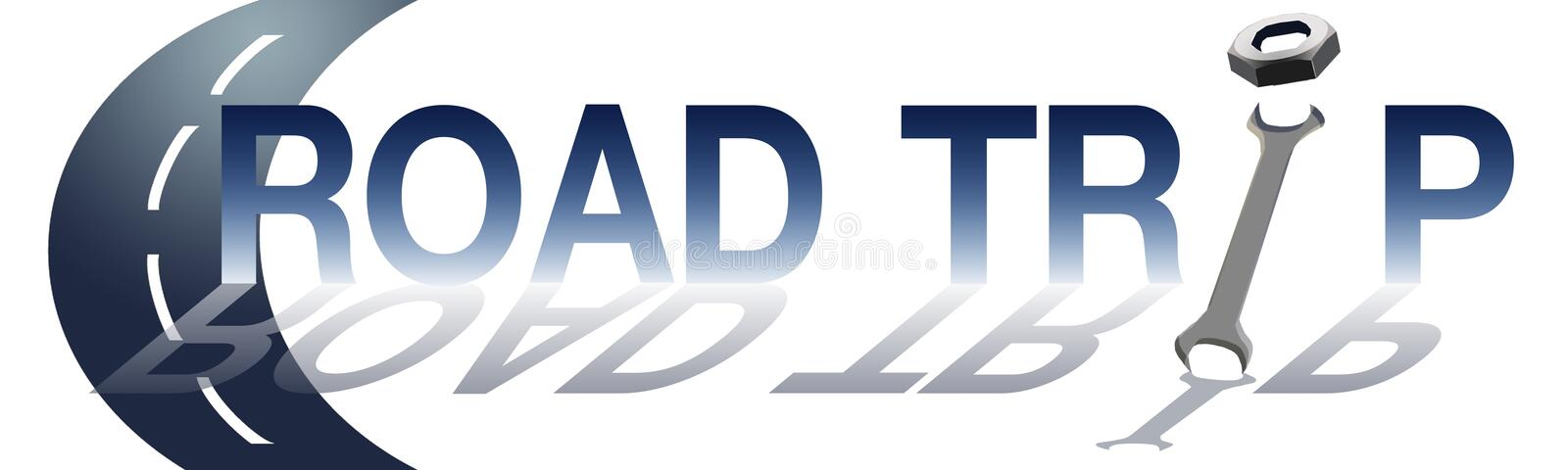 Download Street Road Background With Text Road Trip Stock Illustration - Image: 28524927