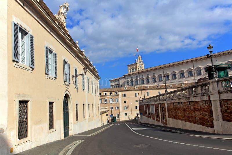 Street.Rome royalty free stock photos