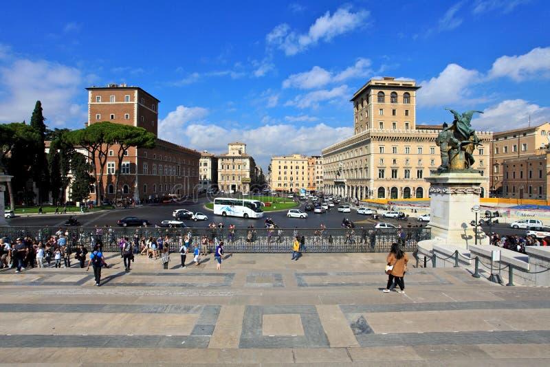 Street.Rome royalty free stock photo