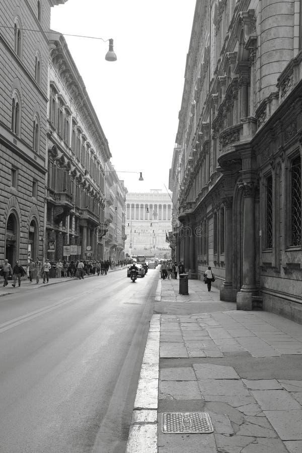Street.Rome stock photography