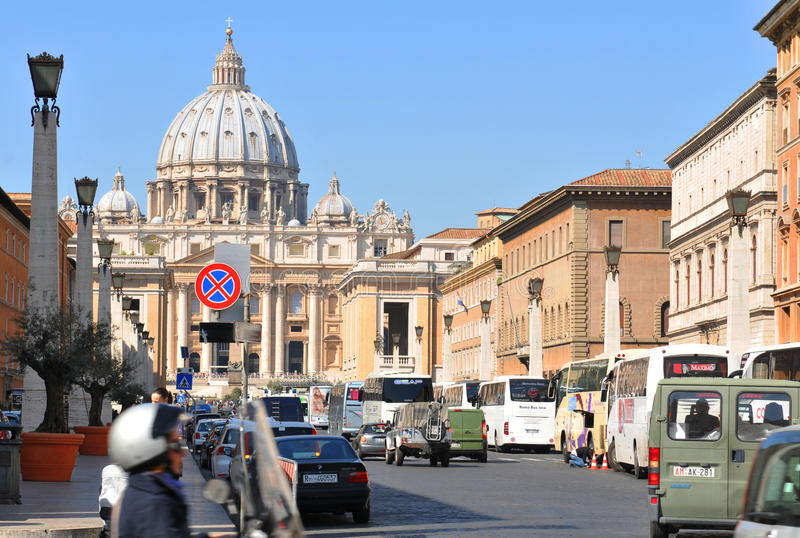 Street in Rome royalty free stock images