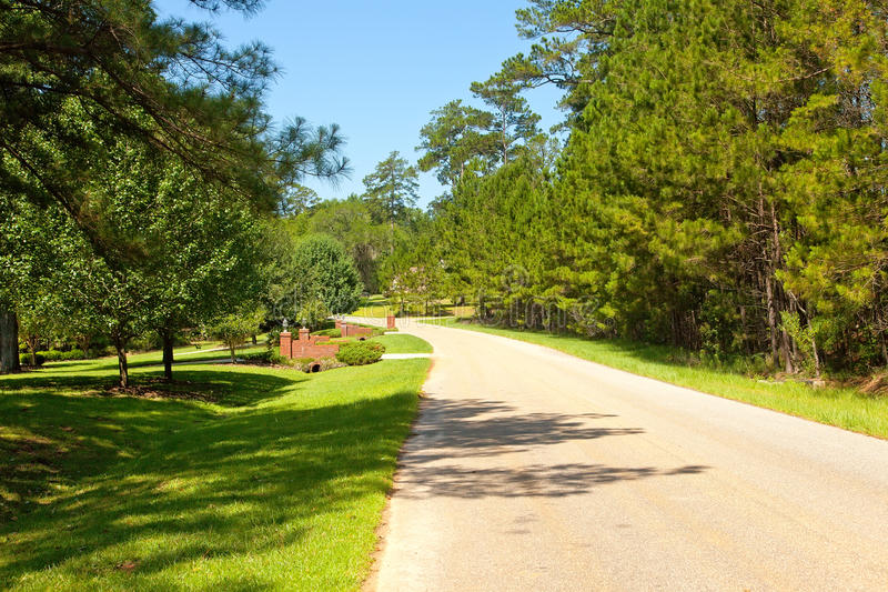 Download Street in Rural Community stock image. Image of countryside - 25129569