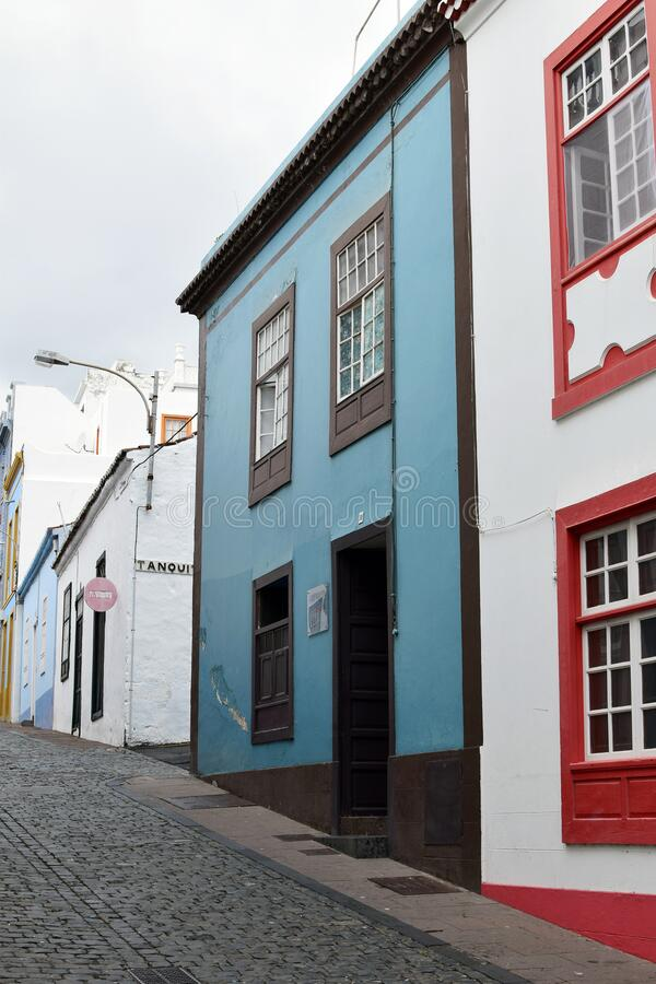Santa Cruz de La Palma, Canary Islands royalty free stock photography