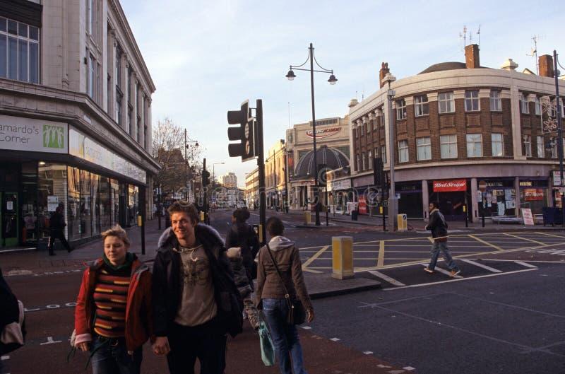 Street scene, London stock photography