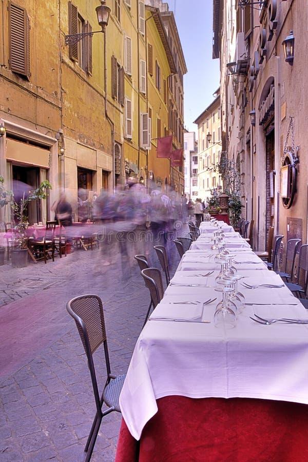 Street Scene From Rome, Italy Royalty Free Stock Photography