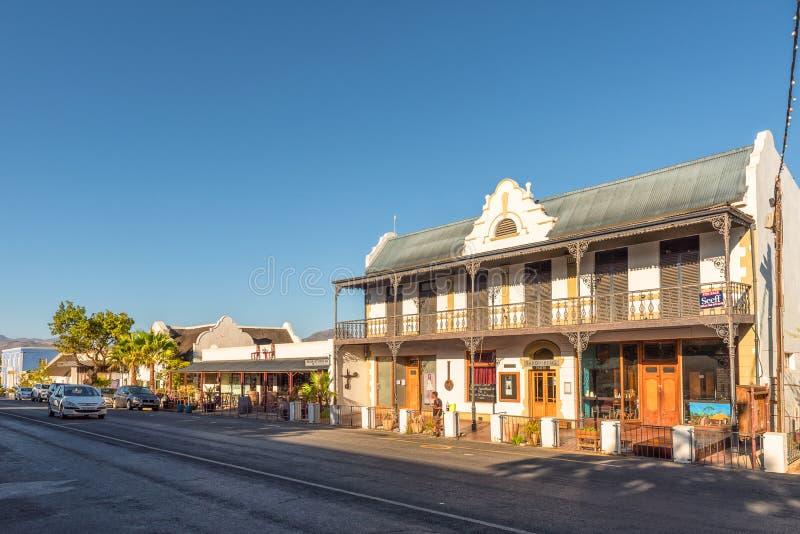 Street scene in Tulbach royalty free stock image