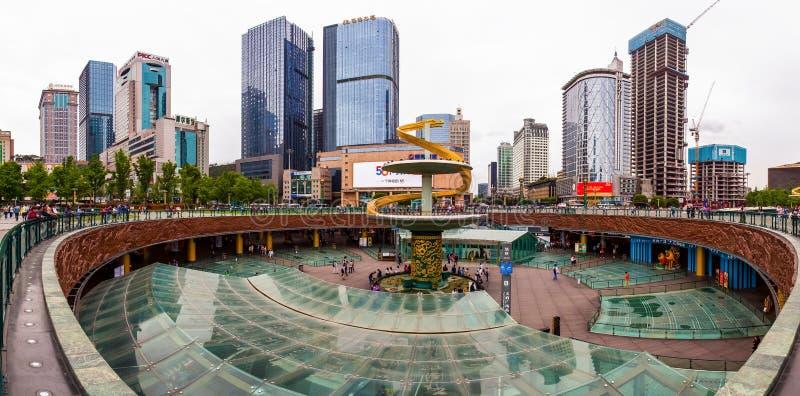 Street scenery stock image