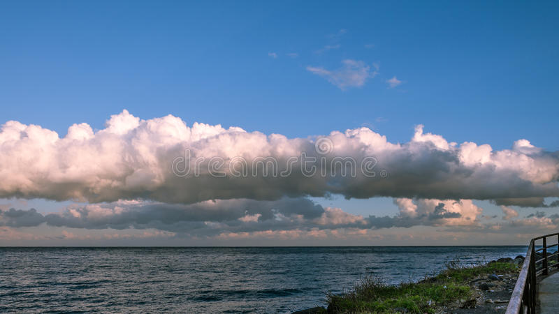 Download The Street On Sea Stock Photo - Image: 83704040