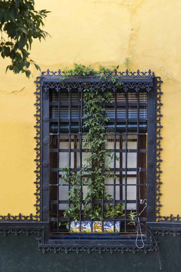 Street of Sevilla royalty free stock photo