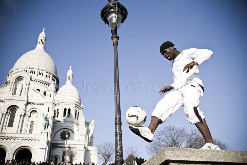 Download Street Show. Montmartre District. Paris Editorial Stock Image - Image: 7860619
