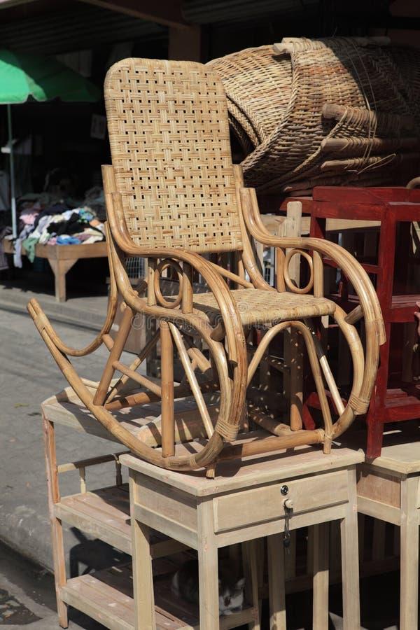 Free Street Side Oriental Furniture Sale Stock Photography - 12297062